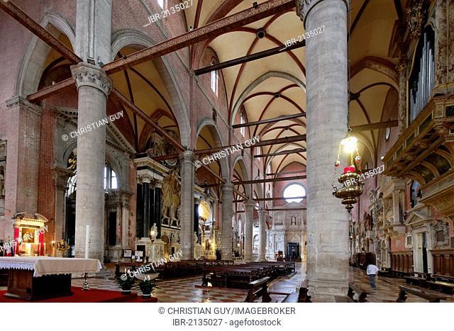 Church Santi Giovanni e Paolo, Castello district, Venice, UNESCO World Heritage Site, Venetia, Italy, Europe