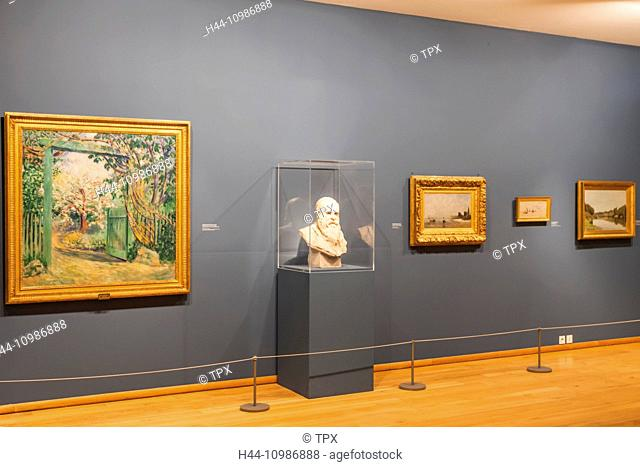 France, Normandy, Giverny, The Musee des Impressionisms aka The Impressionist Museum