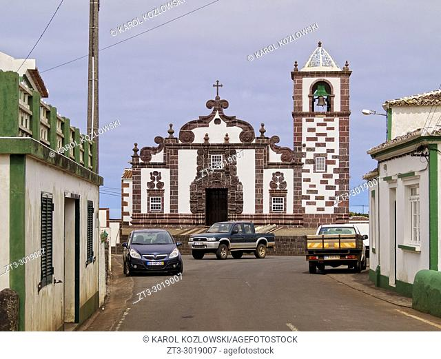 Church of Nossa Senhora da Purificacao, Santo Espirito, Santa Maria Island, Azores, Portugal