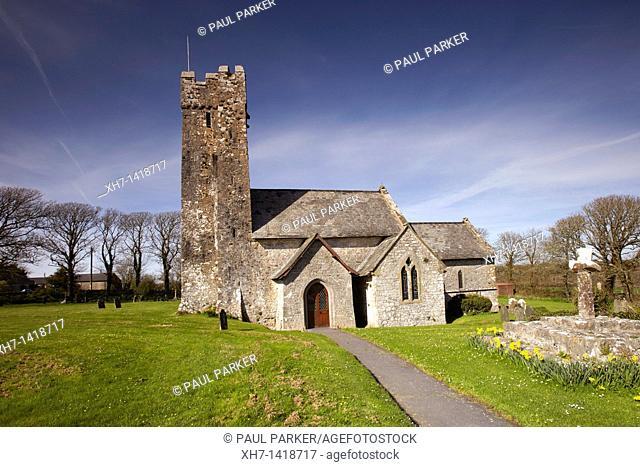 Church of St Michael and All Saints, Bosherton, Pembrikeshire, Wales, UK