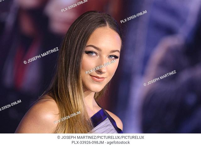 """Ava Michelle at Sony Pictures' """"""""Jumanji: The Next Level"""""""" World Premiere held at the TCL Chinese Theater in Hollywood, CA, December 9, 2019"""