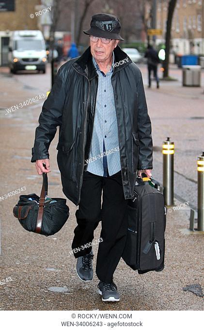 Bernie Clifton outside ITV Studios Featuring: Bernie Clifton Where: London, United Kingdom When: 03 Apr 2018 Credit: Rocky/WENN.com