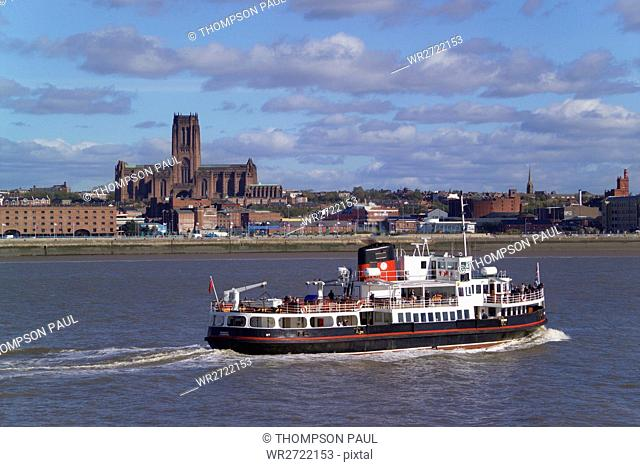 90900150, Liverpool, Mersey Ferry, Anglican Cathed
