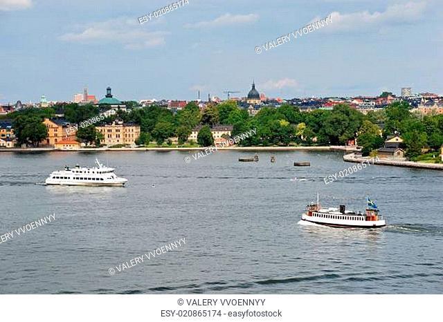 view of Kastellholmen island, Stockholm