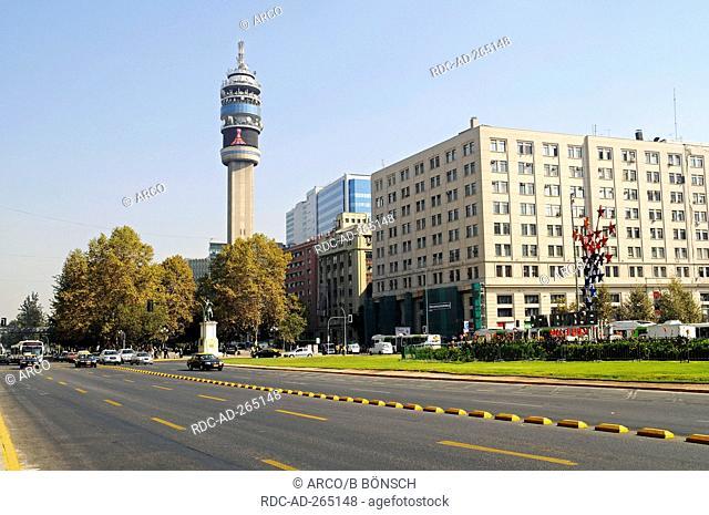 Television tower Torre Entel, Santiago de Chile, Chile / Entel tower, ENTEL Chile