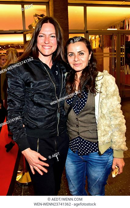Aftershow party for the premiere Wild at Kino International movie theatre. Featuring: Nina Kronjaeger, Naomi Krauss Where: Berlin