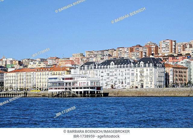 Real Club Maritimo, boat club, waterfront, Santander, Cantabria, Spain, Europe
