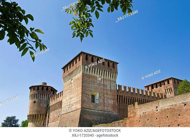 Italy, Lombardy, Soncino, Sforza castle