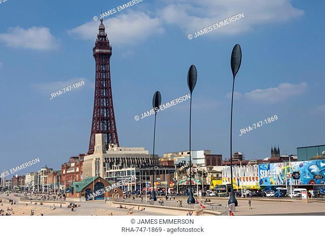 Blackpool Tower, Blackpool, Lancashire, England, United Kingdom, Europe