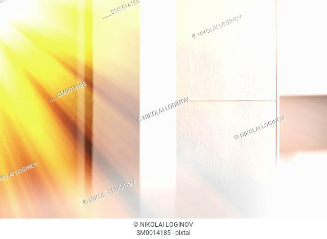 Rays of light in the room background hd