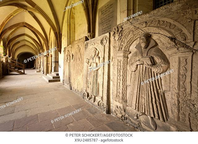 cloister at the Magdeburg Cathedrall, Magdeburg, Saxony- Anhalt, Germany