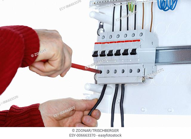 fixing wires