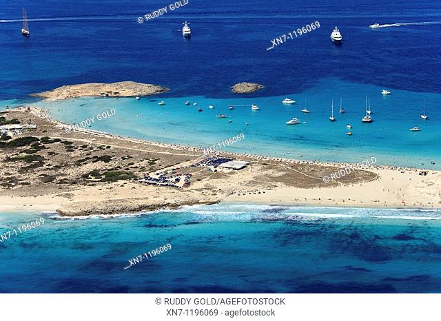 Punta de ses Portes, Ses Salines, Ibiza, Balearic Islands, Spain