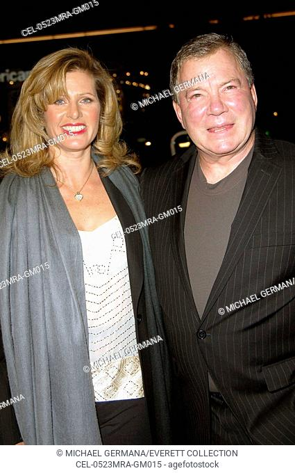 Elizabeth Anderson Martin, William Shatner at arrivals for MISS CONGENIALITY 2 Premiere, Grauman's Chinese Theatre, Los Angeles, CA, March 23, 2005