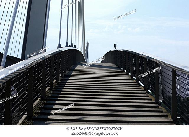Kehl European bridge in Germany