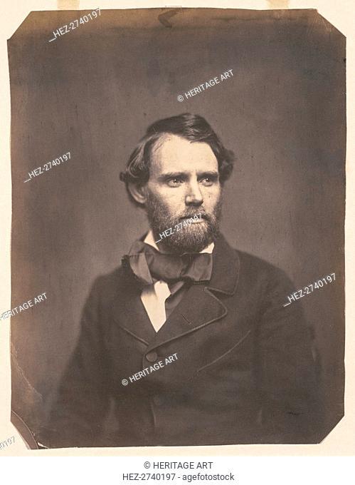Senator George Ellis Pugh of Ohio, c.1857. Creator: Whitehurst Studio (American), attributed to