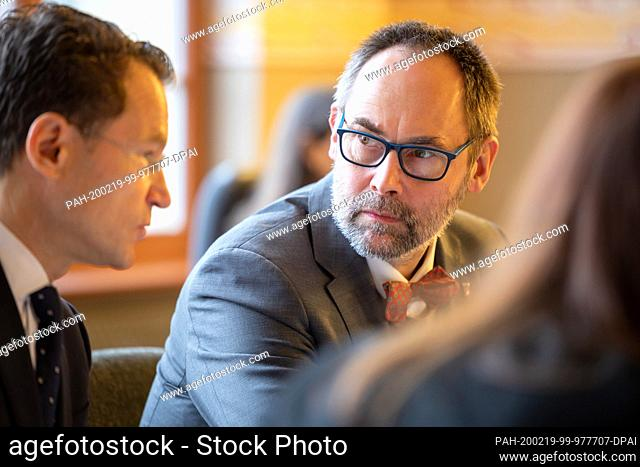 19 February 2020, Thuringia, Weimar: Olaf Möller, former State Secretary in the Ministry for the Environment, Energy and Nature Conservation