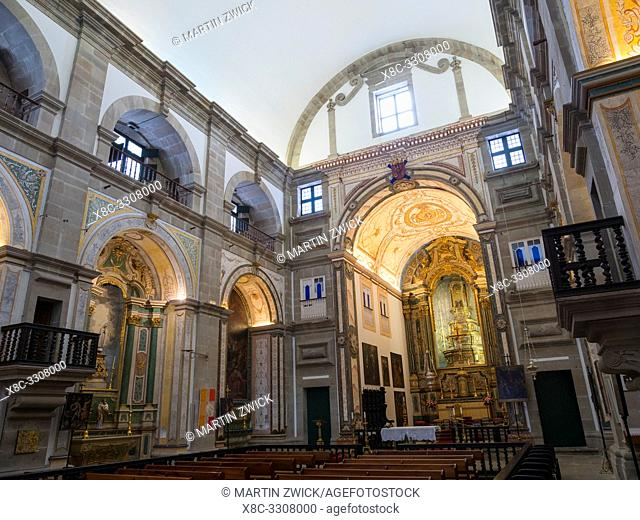 Church Igreja da Misericordia. Capital Angra do Heroismo, the historic center is part of UNESCO world heritage. Island Ilhas Terceira