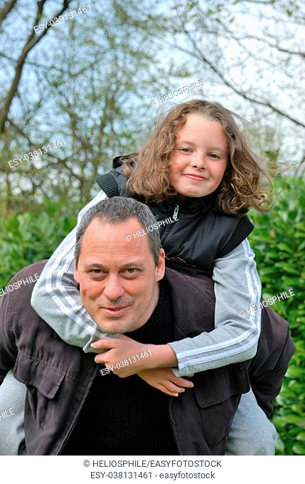 Complicity between father and daughter