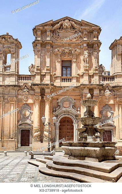 Chiesa Del Purgatorio, Purgatory Church, Marsala, Sicily, Italy