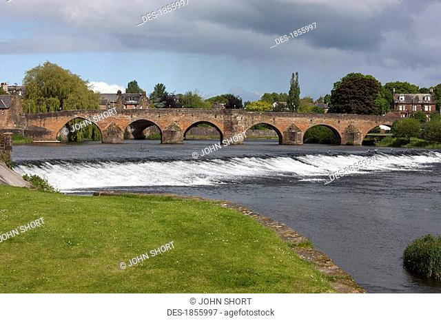 Devorgilla Bridge, Dumfries, Dumfries and Galloway, Scotland