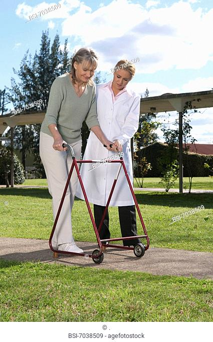 WALKER FOR ELDERLY PERSON