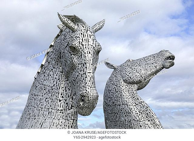 The Kelpies, The Helix Project, Falkirk, Scotland, United Kingdom