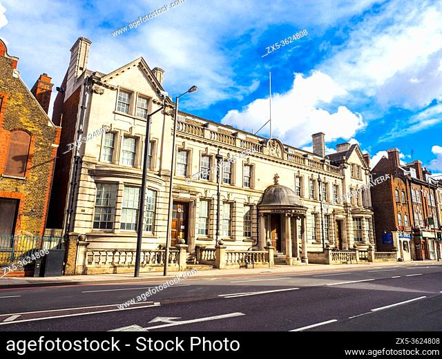 Greenwich Magistrates' Court - Courthouse. 9 Blackheath Rd - London, England