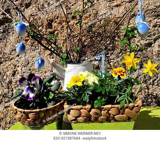 Garten Dekoration Ostern