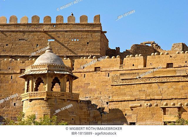 Fortress of Jaisalmer, Rajasthan, India, Asia