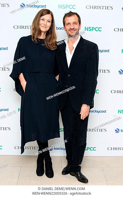 Paddington Trail auction held at Christie's in London - Arrivals Featuring: David Heyman, Rose Heyman Where: London, United Kingdom When: 10 Dec 2014 Credit:...