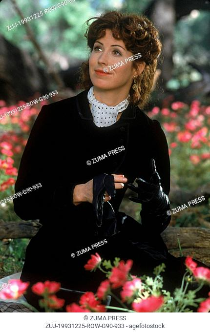Dec 25, 1993; MESCAL, AZ, USA; Actor DANA DELANEY as Josephine Marcus in 'Tombstone.' (Credit Image: © Courtesy of Buena Vista Pictures/Entertainment...