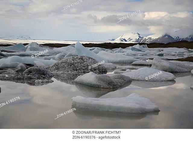 Fjallsárlón Gletschersee Island