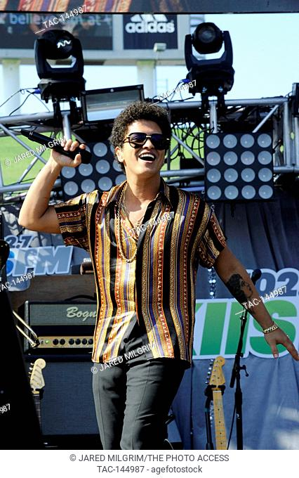 Bruno Mars performs at 102.7 KIIS FM's Wango Tango at The Home Depot Center on May 11, 2013 in Carson, California