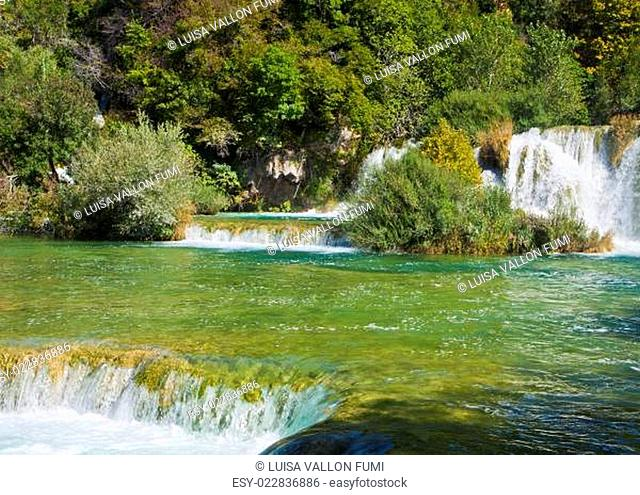Krka waterfalls, Croatia Krka National park