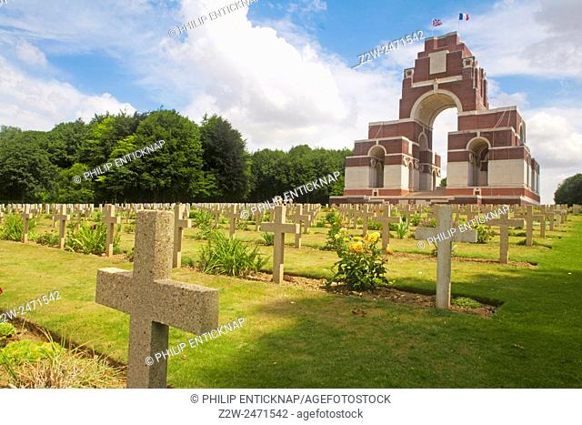 The Somme Memorial, erected in 1932 by the British government, is dedicated to the 75,085 British and South African soldiers missing in action between July 1915...