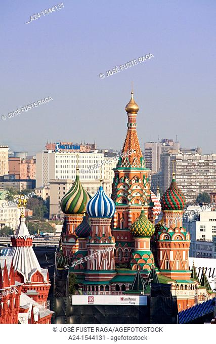 Rusia , Moscow City, St. Basil's Cathedral