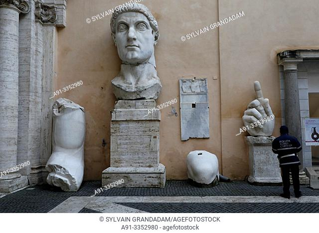 Italy, city of Roma , capitol museum