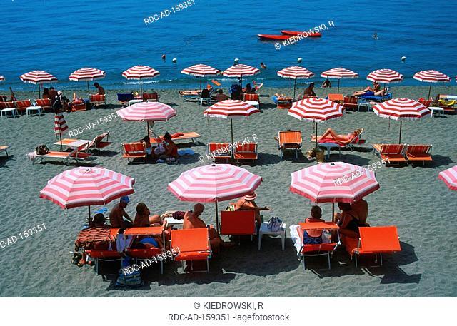 Maronti beach Barano Ischia Bay of Naples Campania Italy