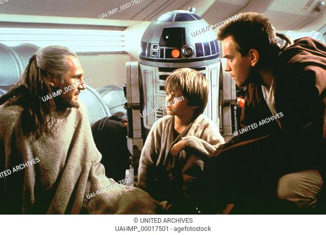 Star Wars, (STAR WARS: EPISODE 1 - THE PHANTOM MENACE) USA 1999, Regie: George Lucas, LIAM NEESON, JAKE LLOYD, EWAN McGREGOR
