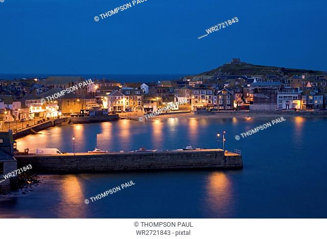 The Harbour, St Ives, Cornwall, England, Britain