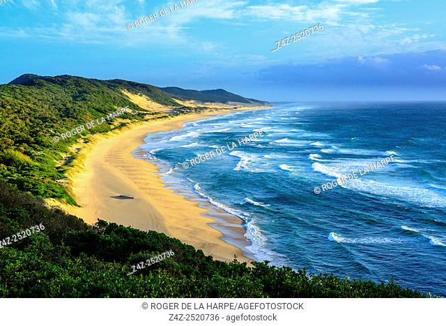 Seascape. Mabibi. Maputaland. KwaZulu Natal. South Africa
