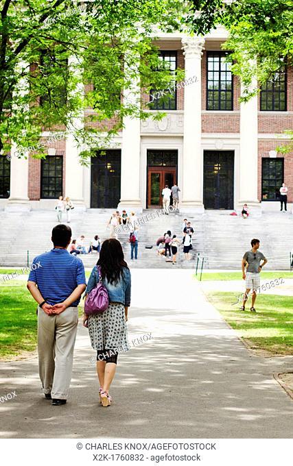 Harvard University Campus, Cambridge, Massachusetts, USA