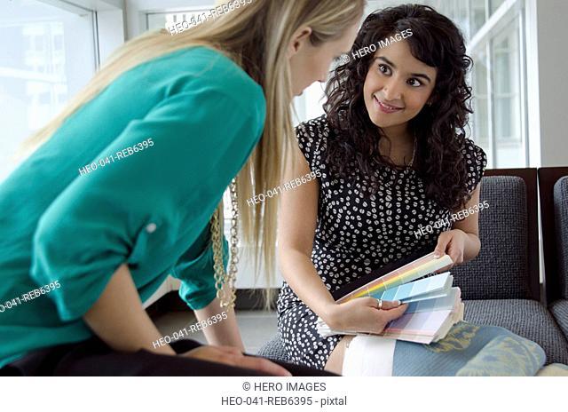 design consultant with client