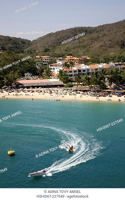 View of Huatulco beach resort. Mexico