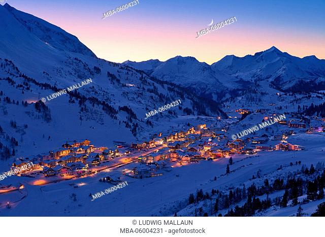 Austria, Salzburg country, Obertauern (village)