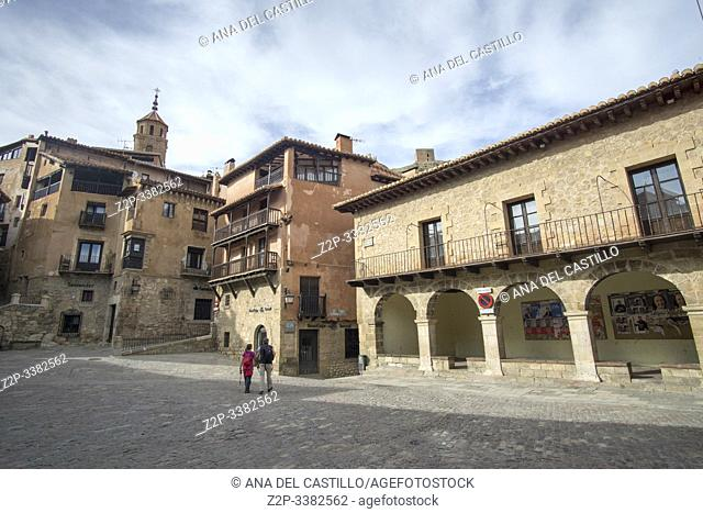 Albarracín is a Spanish town, in the province of Teruel, part of the autonomous community of Aragon. It is one of Spain's most beautiful villages on April 30
