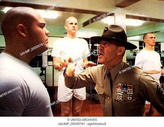 Full Metal Jacket, (FULL METAL JACKET) USA 1987, Regie: Stanley Kubrick, VINCENT D'ONOFRIO, Stichwort: Sergeant, Soldat