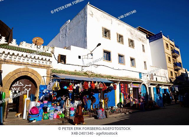 Avenue de l'Istiqial, Medina, Essaouira, Atlantic coast, Morocco, northern Africa
