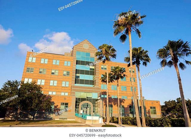 Corpus Christi City Hall. Corpus Christi, Texas, USA